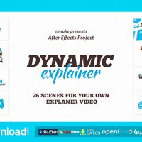 DYNAMIC EXPLAINER VIDEOHIVE TEMPLATE FREE DOWNLOAD