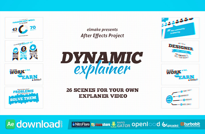 Dynamic explainer videohive template free download free for Explainer video script template