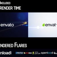 ELEGANT STREAK LOGO REVEAL 2 FREE DOWNLOAD VIDEOHIVE TEMPLATE