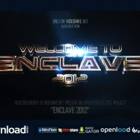 ENCLAVE VIDEOHIVE TEMPLATE FREE DOWNLOAD