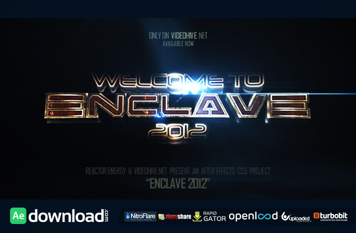 Enclave free download (videohive template)