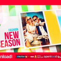 FASHION NEW SEASON (VIDEOHIVE PROJECT) FREE DOWNLOAD