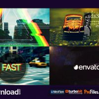 FAST GLITCH LOGO OPENER (VIDEOHIVE PROJECT) FREE DOWNLOAD
