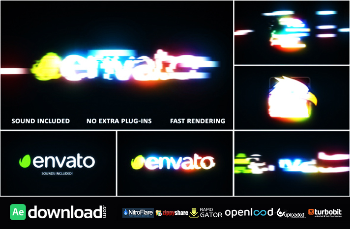 Fast Light Logo Reveal free download (videohive template)