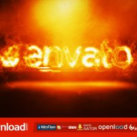 FIRE LOGO INTRO (VIDEOHIVE PROJECT) FREE DOWNLOAD