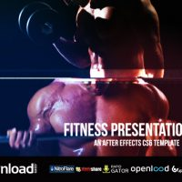 FITNESS PRESENTATION V.2 VIDEOHIVE TEMPLATE FREE DOWNLOAD