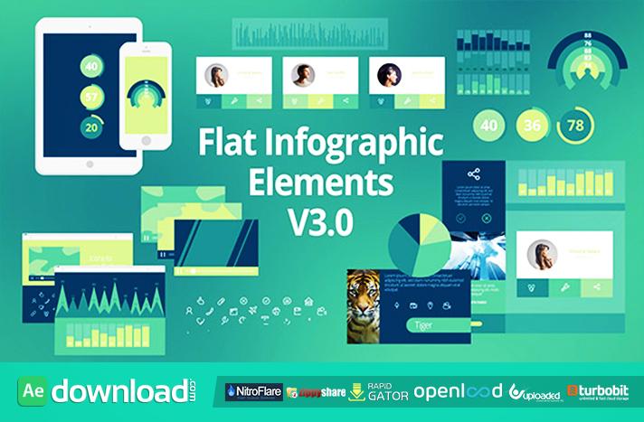 Flat Infographic Elements V3.0