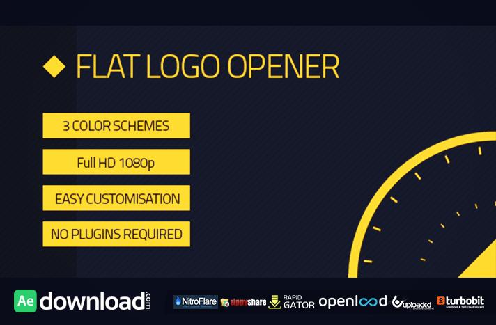 Flat Logo Opener free download