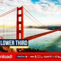 FLAT LOWER THIRDS (VIDEOHIVE PROJECT) FREE DOWNLOAD