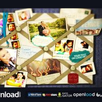 FRENCH MEMO BOARD VIDEOHIVE TEMPLATE FREE DOWNLOAD