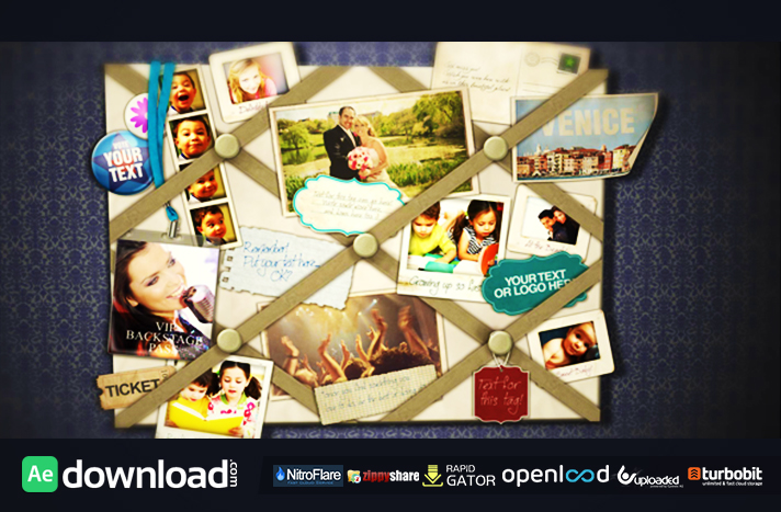 French Memo Board Videohive Template Free Download  Free After