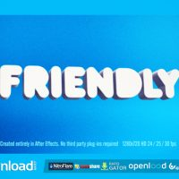 FRIENDLY VIDEOHIVE FREE TEMPLATE