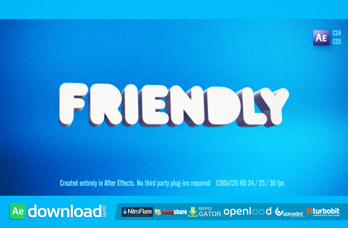 Friendly free download (videohive template)