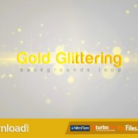 GOLD GLITTERING (VIDEOHIVE) FREE DOWNLOAD