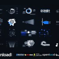 HUD & INFOGRAPHIC ELEMENTS VIDEOHIVE FREE TEMPLATE