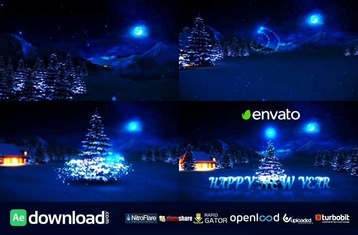 Hy New Year Free Videohive Template