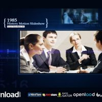 HISTORY MOTION SLIDESHOW (VIDEOHIVE PROJECT) FREE DOWNLOAD