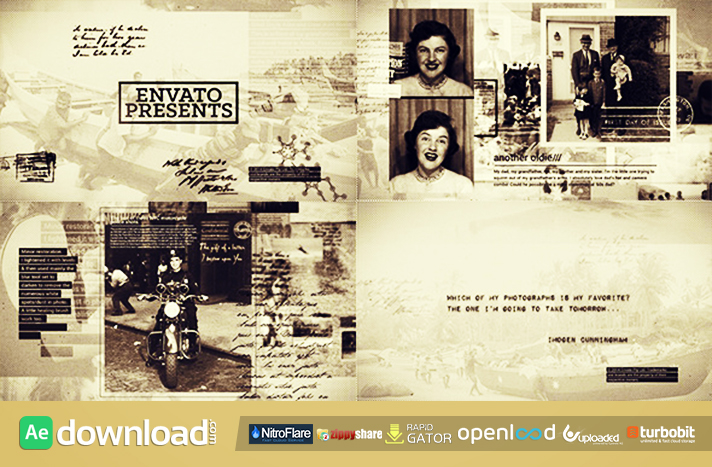 HISTORY IN PHOTOGRAPHS (VIDEOHIVE PROJECT) FREE DOWNLOAD