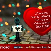 I LOVE YOU FREE DOWNLOAD| VIDEOHIVE TEMPLATE