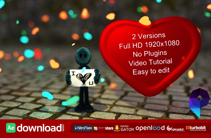 High Quality I LOVE YOU FREE DOWNLOAD| VIDEOHIVE TEMPLATE To Love Templates Free
