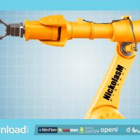 INDUSTRIAL ROBOT VIDEOHIVE TEMPLATE FREE DOWNLOAD