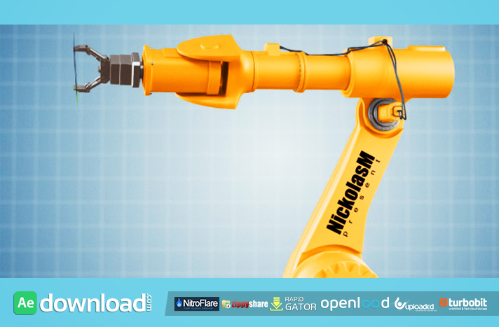 Industrial Robot free download (videohive template)