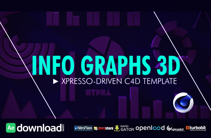 Info Graphs 3D free download (videohive template)