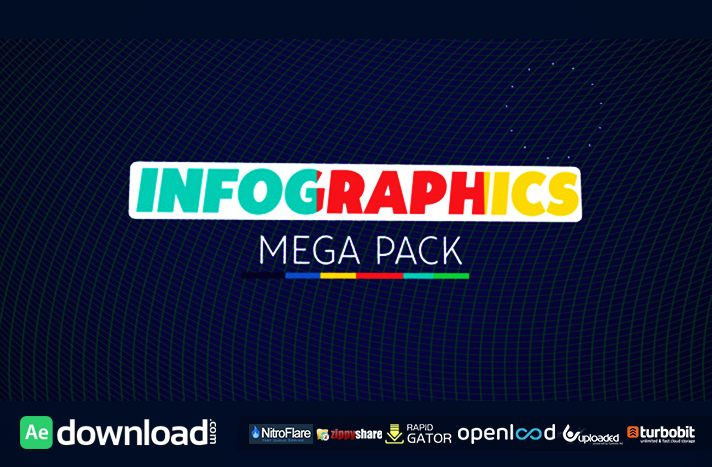 INFOGRAPHICS MEGA PACK VIDEOHIVE FREE TEMPLATE - Free After Effects ...
