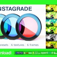 INSTAGRADE – COLOR CORRECTION TEMPLATE VIDEOHIVE TEMPLATE
