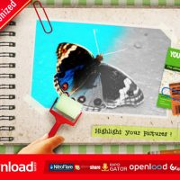 KIDS COLOR THE PHOTO ALBUM VIDEOHIVE TEMPLATE FREE DOWNLOAD