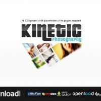 KINETIC PHOTOGRAPHY FREE DOWNLOAD  VIDEOHIVE TEMPLATE