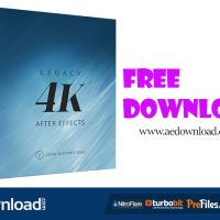 LEGACY 4K LENS DISTORTIONS FREE DOWNLOAD
