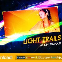 LIGHT TRAILS (VIDEOHIVE PROJECT) FREE DOWNLOAD