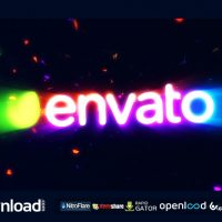 LIGHT TRAILS LOGO VIDEOHIVE PROJECT – FREE DOWNLOAD