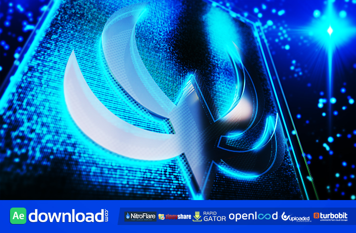 Lighted Glass Logo Reveal