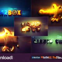 LIQUID EDGE (VIDEOHIVE PROJECT) FREE DOWNLOAD
