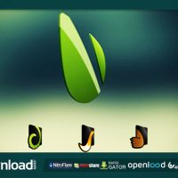 LOGO 3D ROTATION KIT VIDEOHIVE TEMPLATE FREE DOWNLOAD