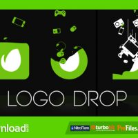 LOGO DROP (VIDEOHIVE TEMPLATE) FREE DOWNLOAD