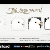 LOGO INK REVEAL FREE DOWNLOAD| VIDEOHIVE TEMPLATE