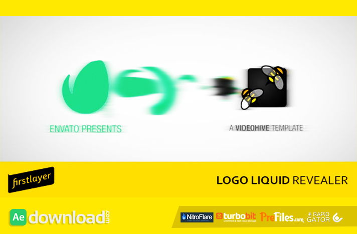 Logo Liquid Revealer Free Download After Effects Templates