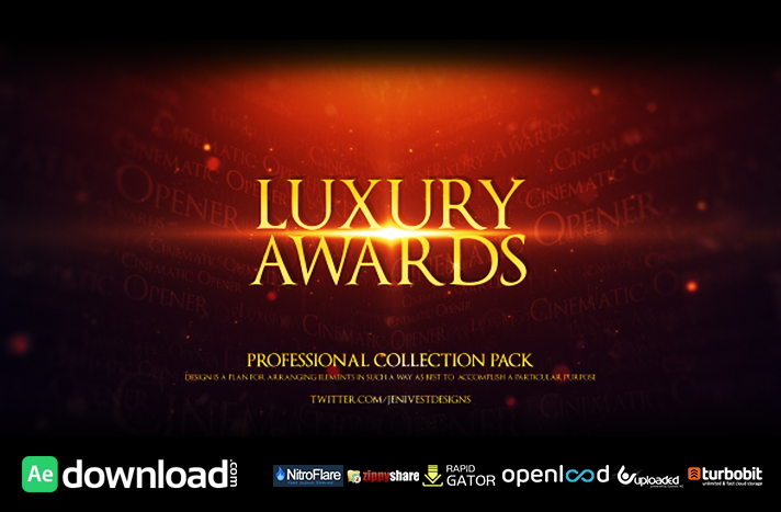 Luxury Awards free download (videohive template)