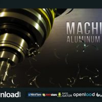 MACHINE ALUMINUM LOGO (VIDEOHIVE PROJECT) FREE DOWNLOAD