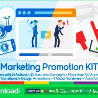 MARKETING & PROMOTION KIT VIDEOHIVE TEMPLATE FREE DOWNLOAD