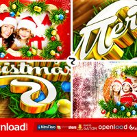 MERRY CHRISTMAS (VIDEOHIVE PROJECT) FREE DOWNLOAD