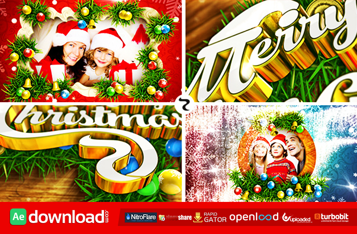 Merry Christmas free download vidohive