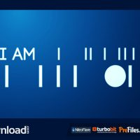 MINIMAL ANIMATED TYPEFACE (VIDEOHIVE PROJECT) FREE DOWNLOAD