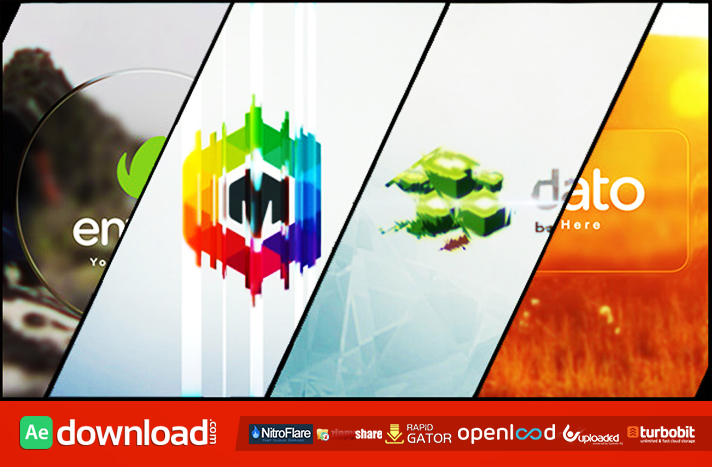 Minimal Glass Logo Reveal free download (videohive template)
