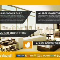MINIMALIST & MODERN LOWER THIRDS FREE DOWNLOAD VIDEOHIVE TEMPLATE