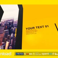 MODERN OPENER VIDEOHIVE TEMPLATE FREE DOWNLOAD