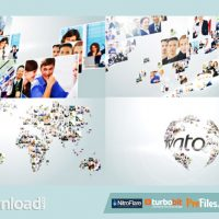 MULTI VIDEO CORPORATE WORLD LOGO REVEALE (VIDEOHIVE PROJECT) FREE DOWNLOAD